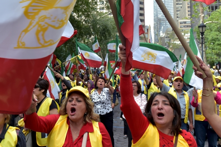 In 2012, the US State Department removed the MEK from its 'terror list' [Reuters]