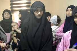 Many Russian women have been sentenced by Iraqi courts for joining ISIL [File: AFP]