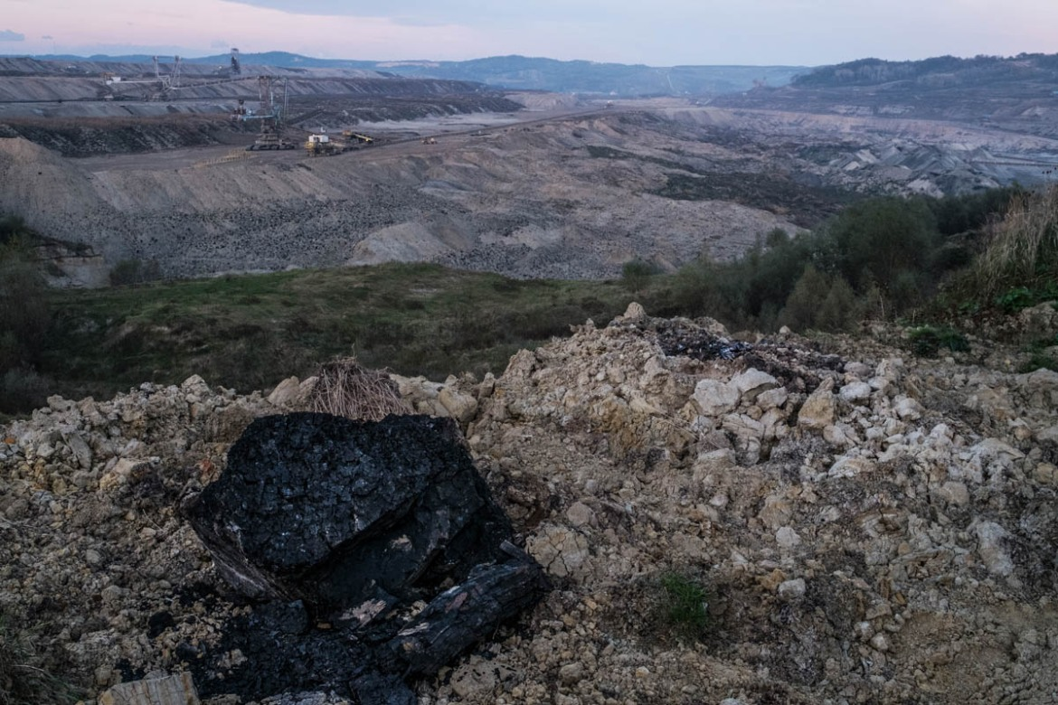 Lignite - or brown coal - is an inefficient and extremely polluting type of coal but can be found in large deposits. [Mihai Stoica/Al Jazeera]