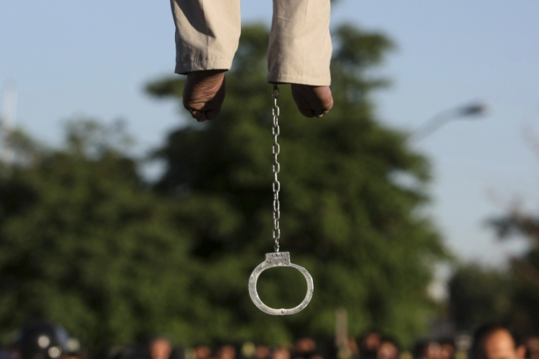 China is believed to be 'the world's most prolific executioner', executing thousands of people each year [File: Hamideh Shafieeha/AP]