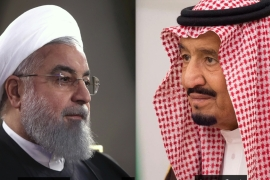 Iran's Rouhani and Saudi Arabia's King Salman have yet to meet and discuss the future of the region [File: AP]