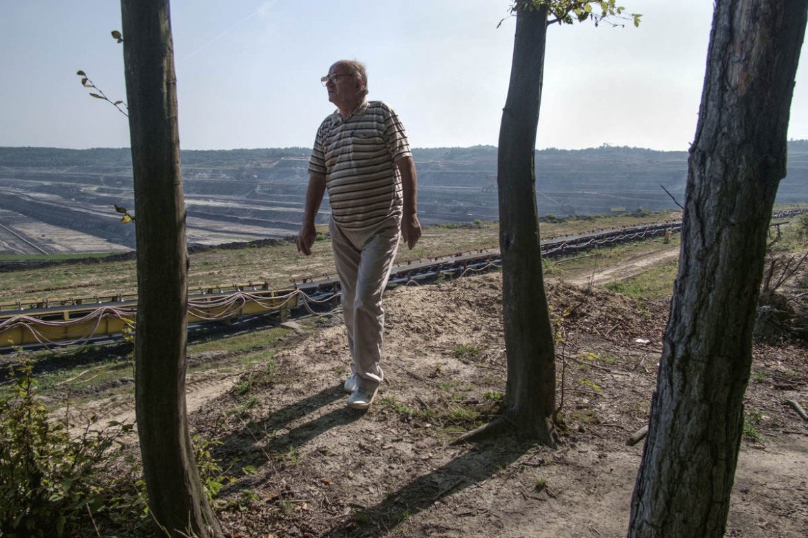 Private property rights are often infringed on by expansions. In 2016, a scandal broke in Romania when CEO refused to offer fair compensations to 134 villagers it wanted to forcibly remove to make way for a mine expansion in Runcurel village, Gorj county. [Mihai Stoica/Al Jazeera]