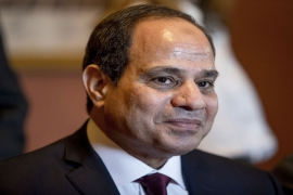 Sisi won 97 percent of the votes in presidential election that was criticised for having no credible opposition [File: The Associated Press]