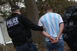ICE crackdown on MS-13 in Long Island  [Getty Images]