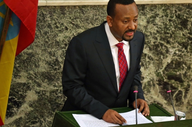 More than 1,000 prisoners have been pardoned since Abiy Ahmed took over as prime minister in April [File: Tiksa Negeri/Reuters]