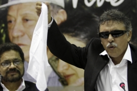 Santrich was one of the FARC negotiators during the peace talks in Havana, Cuba [File:Franklin Reyes/AP Photo]