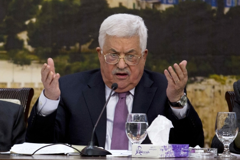 Critics of Abbas have questioned the PA president's motives of convening the PNC [File: Majdi Mohammed/The Associated Press]