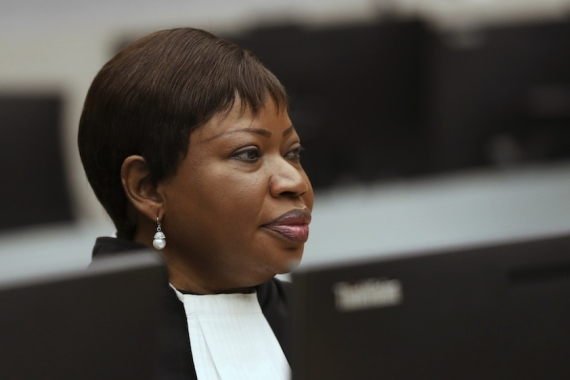 Fatou Bensouda's office concluded that British authorities had examined the allegations [AP]