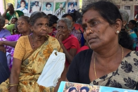 These women are still waiting for the return of their missing relatives [Al Jazeera]
