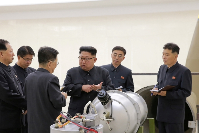 Kim Jong-un announced a suspension of all nuclear and missile tests last month [File: KCNA/Reuters]