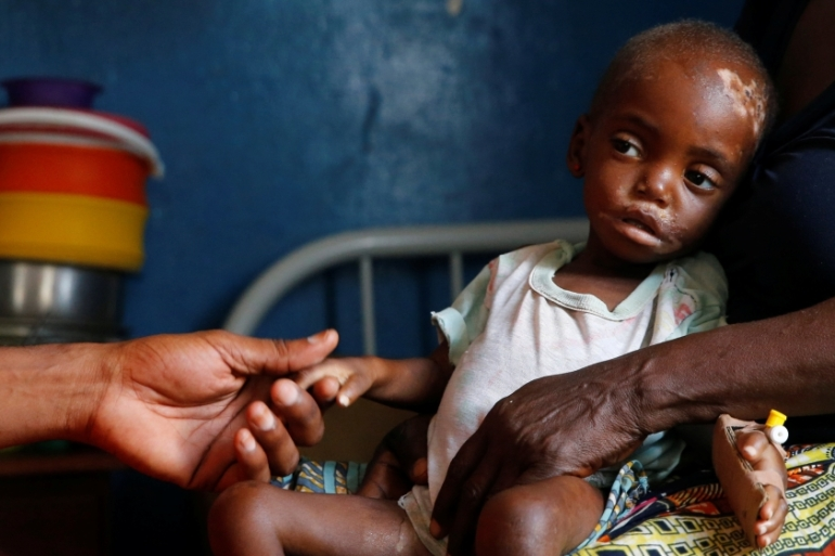 UNICEF estimates 770,000 children are suffering from acute malnutrition in the Kasai [File: Thomas Mukoya/Reuters]