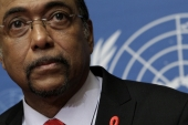 Michel Sidibe is the director of UNAIDS [Reuters]