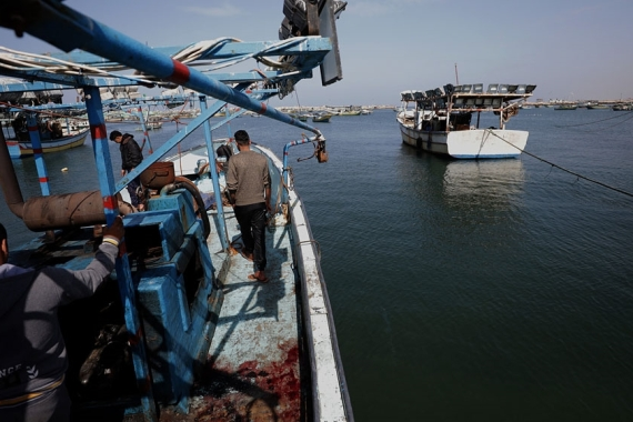 Egyptian officials could not immediately be reached for comment and it was unclear whether the fishing boat had crossed into Egyptian waters [File: Mohamed Saber/EPA]