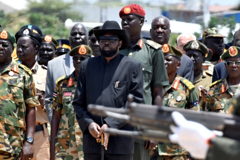 The case was widely seen as a test of will by the government of President Kiir to bring accountability in the military [Samir Bol/Reuters]
