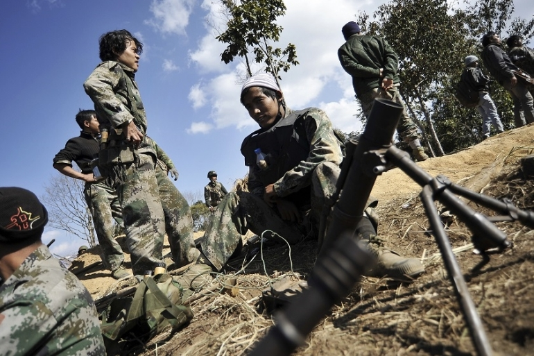 Kachin Independence Army has not signed the so-called Nationwide Ceasefire Agreement [File: Kaung Htet/Reuters]