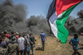 Israeli forces killed at least 60 Palestinians near the Gaza border on May 14 [File: EPA]