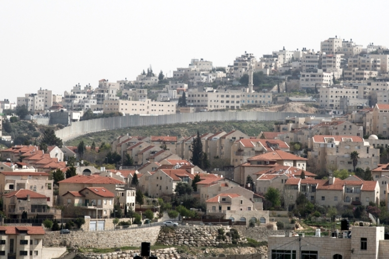 The Israeli government approved 6,742 settlement units for construction in the year 2017 [EPA]