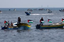 Those on board were attempting to break an Israeli-imposed siege [Mohammed Salem/Reuters]