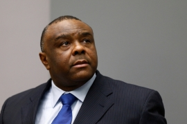 In 2016, the ICC found Jean-Pierre Bemba guilty of war crimes and handed him an 18-year prison sentence [Reuters]