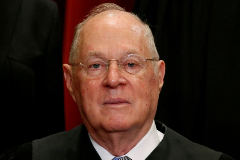 Supreme Court Justice Anthony Kennedy served his position for more than 30 years [Jonathan Ernst/Reuters]