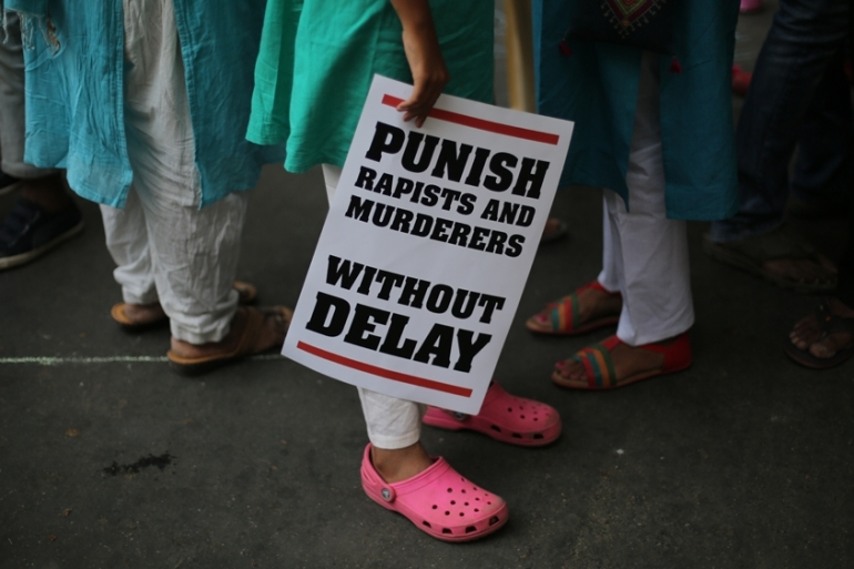 Three girls were raped and set on fire in India during one week in May [Oinam Anand/The Associated Press]