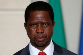 Zambia's President Edgar Lungu will be attending an anti-corruption themed AU summit as six of his citizens go on trial for protesting corruption [Reuters]