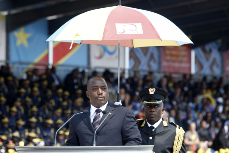 President Joseph Kabila has not announced if he will not seek a third mandate in December [Getty Images]
