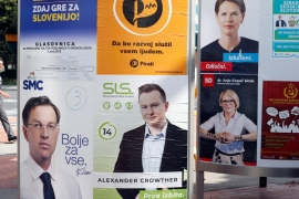 Slovenia: Anti-immigration party to make gains as polls open