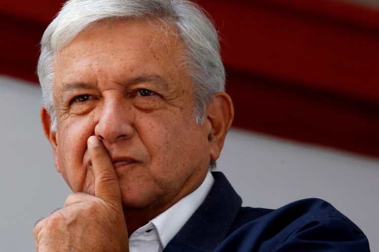 Left-wing populist Andres Manuel Lopez Obrador's election victory came on the back of the deadliest 12 months in two decades in Mexico [Reuters]