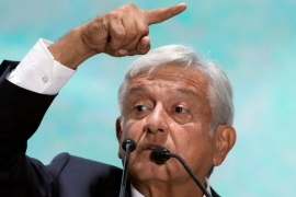 AMLO won 53 percent of the vote in the July 1 presidential elections in Mexico [Reuters]