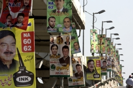 Pakistan will elect a new government this month as the ruling PML-N completed its five-year term [BK Bangash/AP]