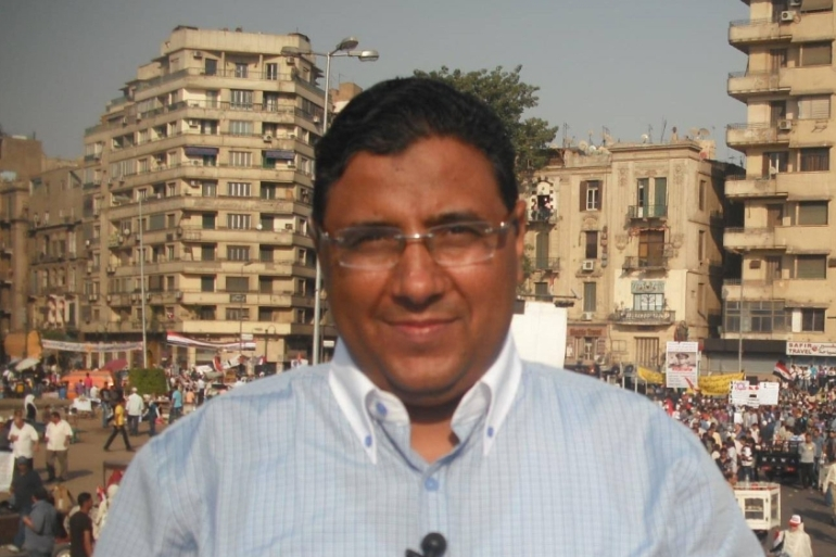 Al Jazeera's Mahmoud Hussein has been held in Egypt for more than 1,200 days [Al Jazeera]