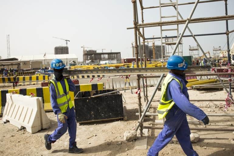 In August 2020, Qatar announced landmark changes to its labour law, including scrapping the need for an NOC [Faras Ghani/Al Jazeera]