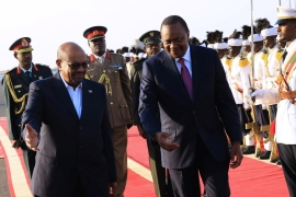 Two sitting heads of states - Omar Hassan al-Bashir of Sudan and Uhuru Kenyatta of Kenya - have been indicted by the ICC in the past. Charges against Kenyatta have since been dropped [Reuters]