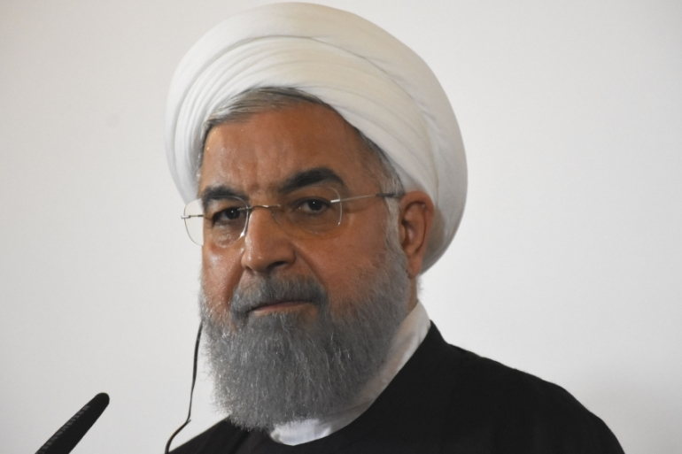 Earlier this month, Rouhani hinted that Tehran may block regional oil exports if its own sales are halted [File: Anadolu]