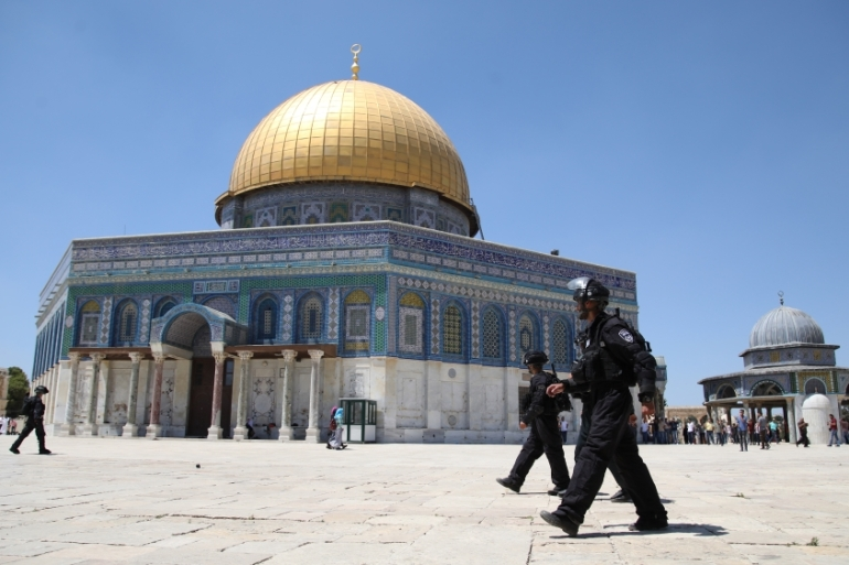 The Al-Aqsa compound is one of the most fractious issues in the Israel-Palestinian conflict [Mostafa Alkharouf/Anadolu Agency]