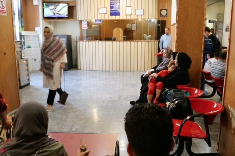 For 76 years, the Dr Sapir Hospital has been a fixture in Tehran's former Jewish quarter of Oudlajan [Ted Regencia/Al Jazeera]