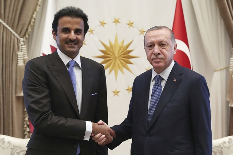 Qatar's Emir recently pledged a $15bn investment into Turkey's financial markets and banks [File: AP]