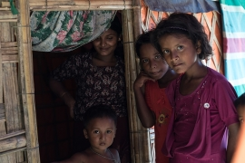 What is Myanmar offering the Rohingya to return home?