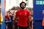 Salah tested positive for the coronavirus last November [John Sibley/Reuters]