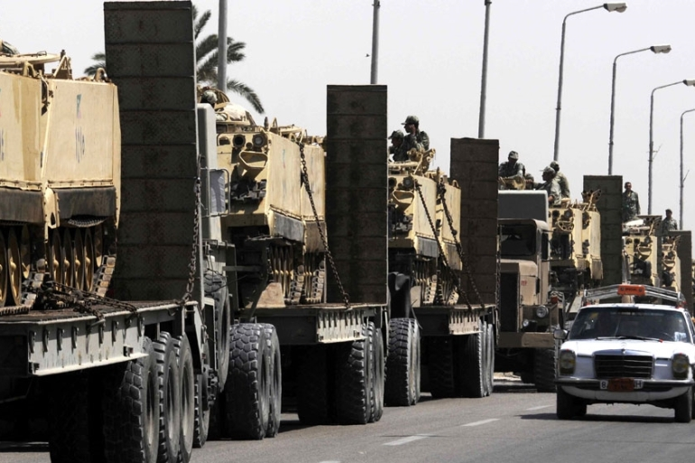 President Abdel Fattah el-Sisi has promised to defeat armed groups in Sinai [EPA]