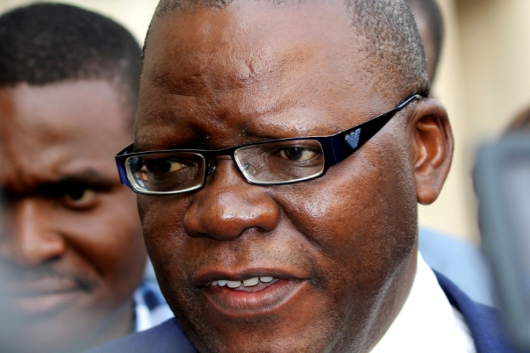 Tendai Biti appeared in court on Thursday [Philimon Bulawayo/Reuters]