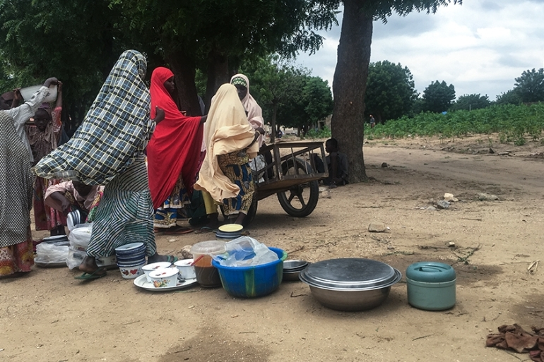 Thousands have been displaced as a result of the cattle rustler crisis in Zamfara [Eromo Egbejule/Al Jazeera]