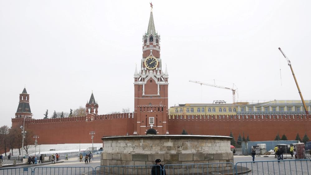 Russia blacklists 8 EU officials in retaliation for sanctions