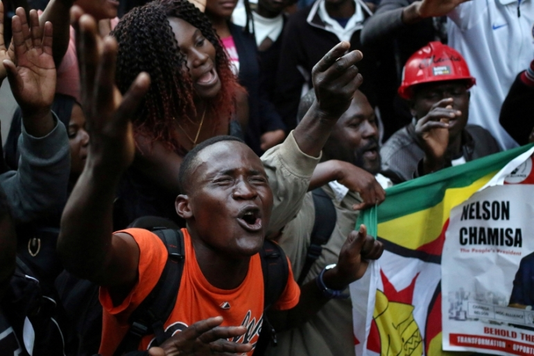 Zimbabwe's opposition has a lot of work ahead of them, writes Dendere [Siphiwe Sibeko/Reuters]