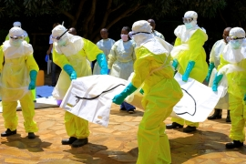 Ebola has claimed 100 lives since the deadly virus outbreak started nearly two months ago in North Kivu [Samuel Mambo/Reuters]