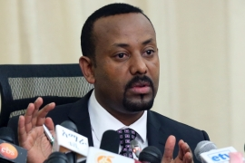 PM Abiy Ahmed said the army has succeeded in containing a rebel attack in the northern Tigray region [Reuters]