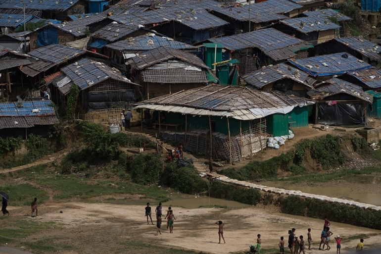 According to ISCG, 919,000 refugees have been displaced from their villages in Myanmar's Rakhine state [Sorin Furcoi/Al Jazeera]