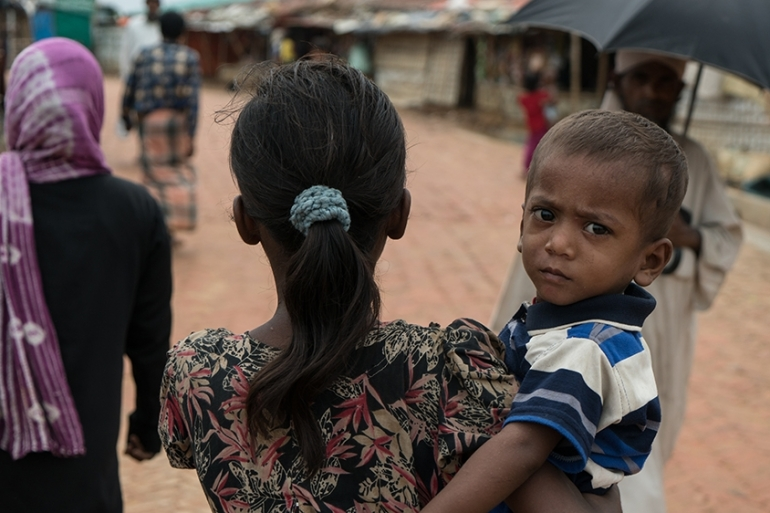 Rohingya were forced to flee Myanmar in 2017 and hundreds of thousands now live in refugee camps in Bangladesh [Sorin Furcoi/Al Jazeera]