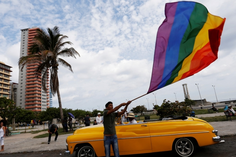 Cuba's current constitution defines marriage as being 'between a man and a woman' [File: Reuters]